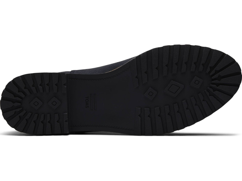 TOMS Water Resistant Leather Women's Cleo Black