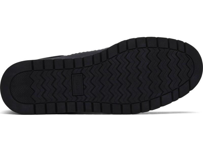 TOMS Waterproof Leather Techy Nylon Women's Mesa Black