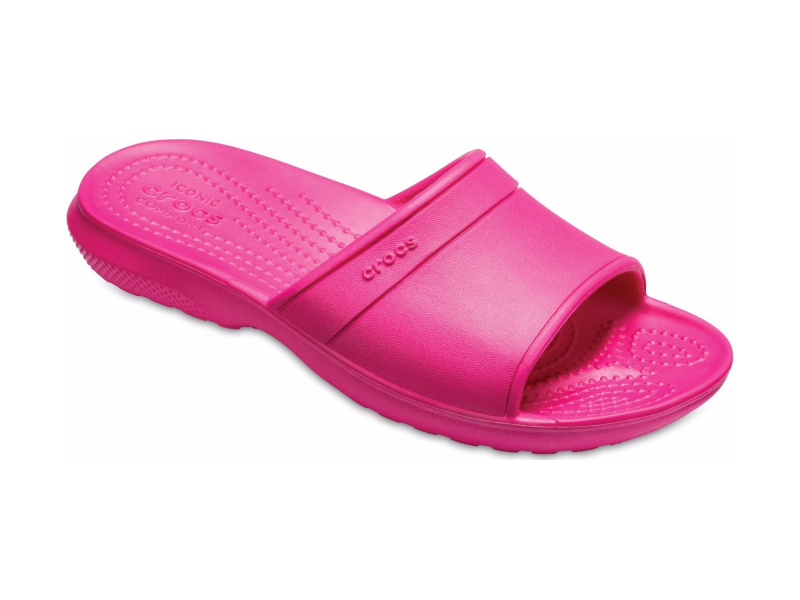 Crocs™ Kids' Classic Slide Candy Pink