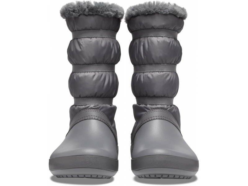 Crocs™ Women's Crocband Winter Boot Charcoal