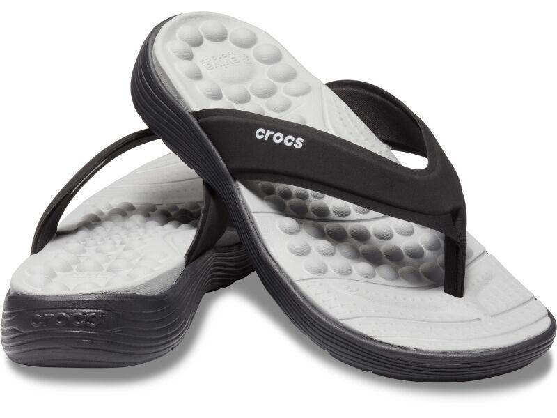 Crocs™ Reviva Flip Women's Black/Black