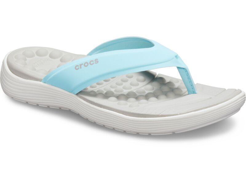 Crocs™ Reviva Flip Women's Ice Blue/White