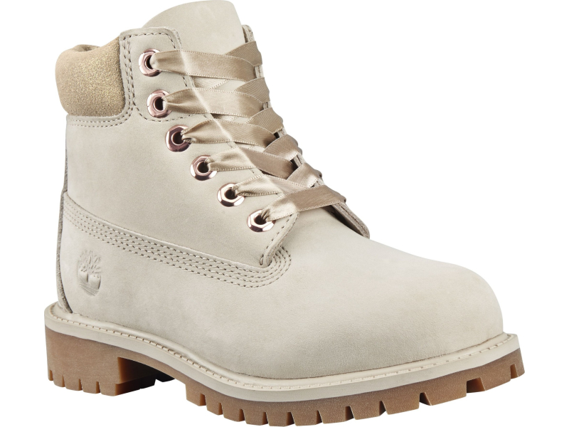Timberland 6 In Premium Boot Junior's Light Taupe