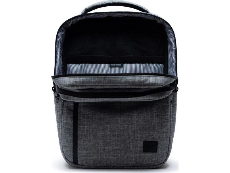 Herschel Travel Daypack Raven Crosshatch