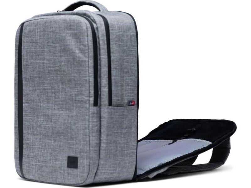 Herschel Travel Backpack Raven Crosshatch