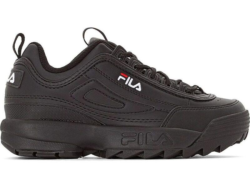 FILA Disruptor Low Black/Black