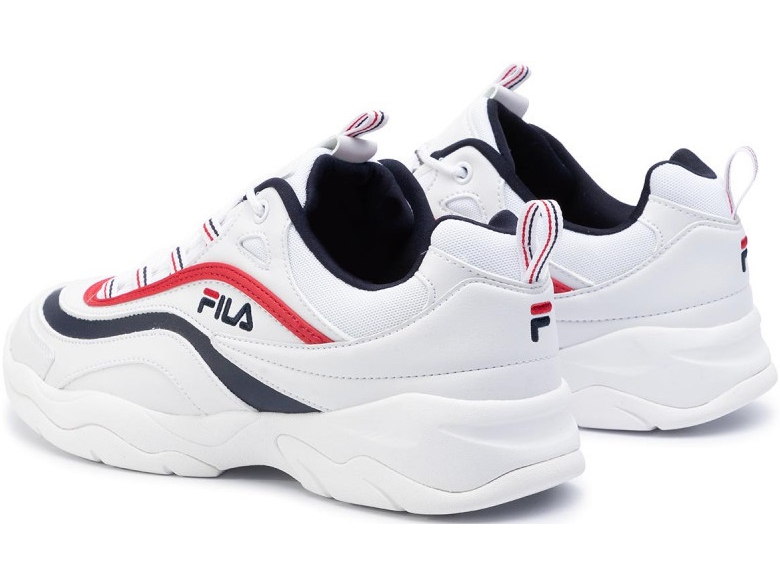 FILA Ray Low White/Fila Navy/Fila Red