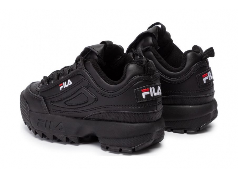 FILA Disruptor Kids Black/Black
