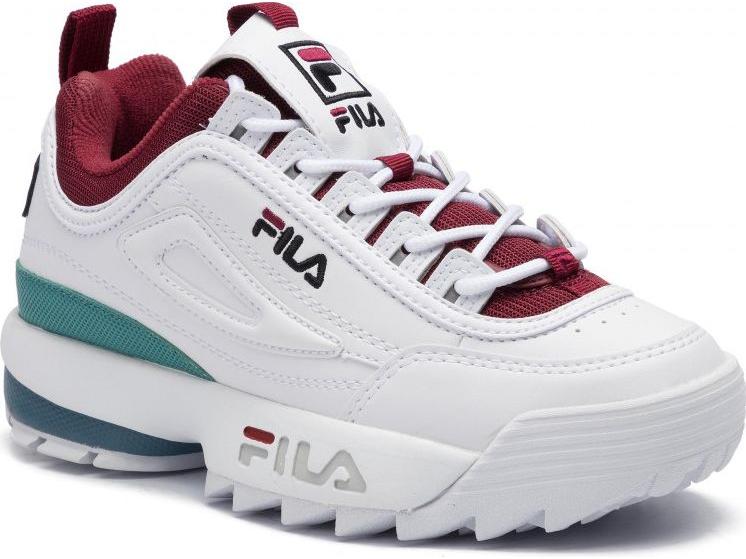 FILA Disruptor CB Low White/Rhubarb