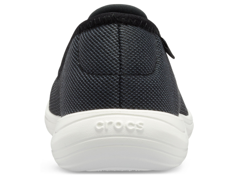 Crocs™ Reviva Flat Women's Black/White