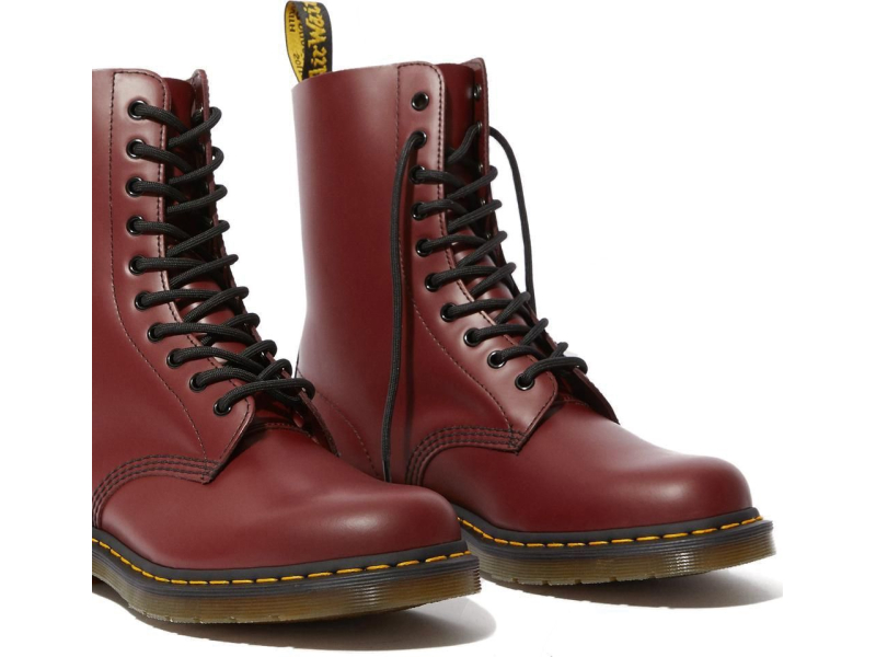 Dr. MARTENS 1490 Smooth Cherry Red