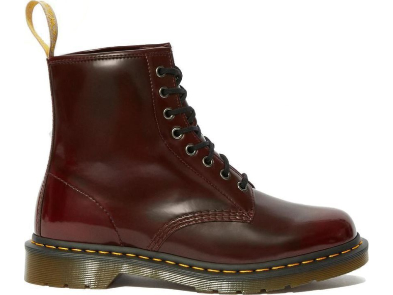 Dr. MARTENS Vegan 1460 Oxford Rub Off Cherry Red