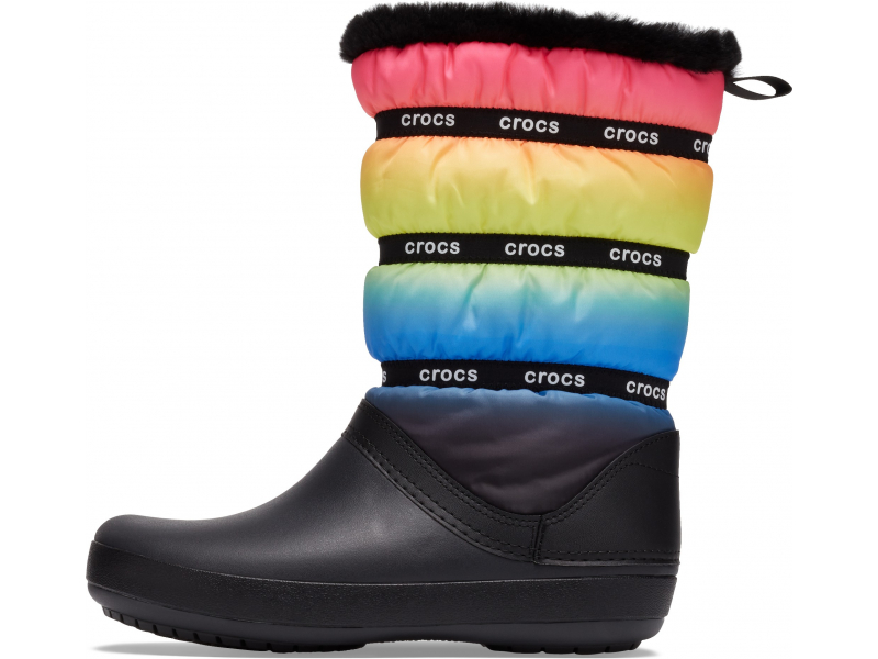Crocs™ Crocband Neo Puff Winter Boot Women's Neon Ombre/Black