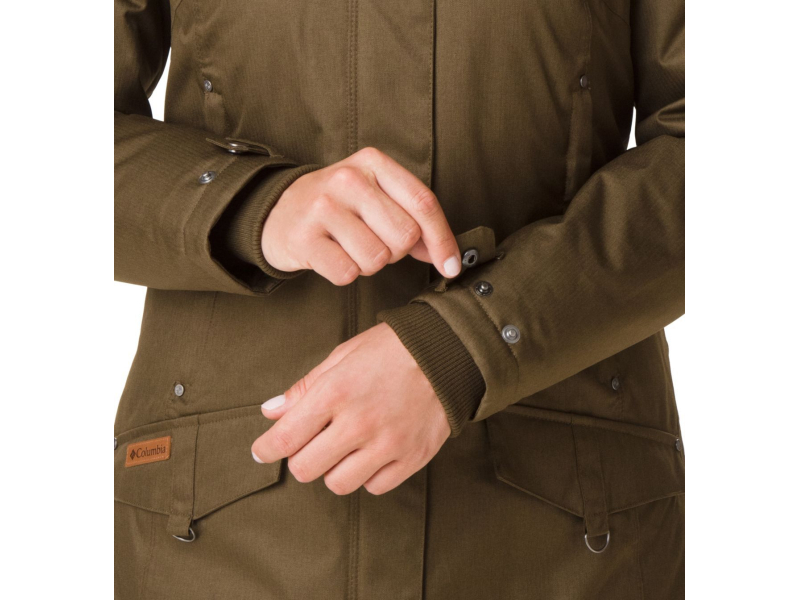 Columbia Alpine Escape Jacket Olive Green