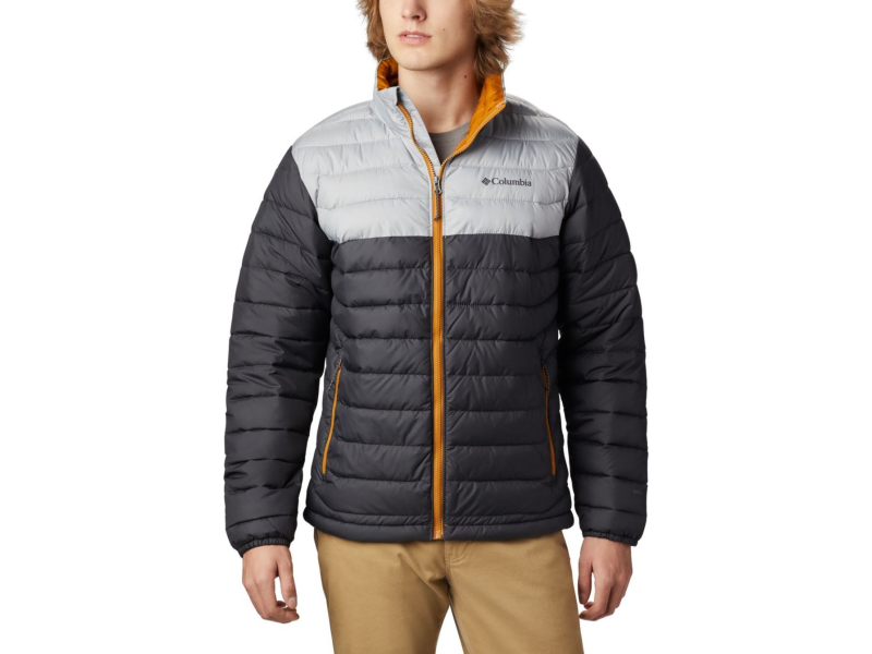 Columbia Powder Lite Jacket Shark/Columbia Grey