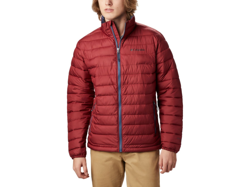 Columbia Powder Lite Jacket Red Jasper