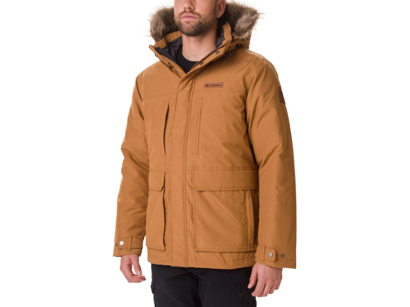 Columbia Marquam Peak Jacket Camel Brown