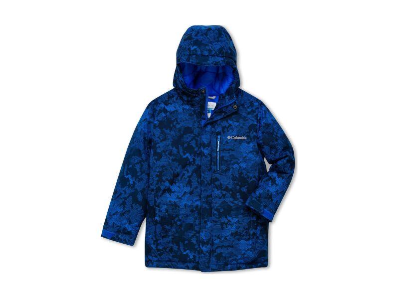 Columbia Alpine Free Fall II Jacket Super Blue Camo