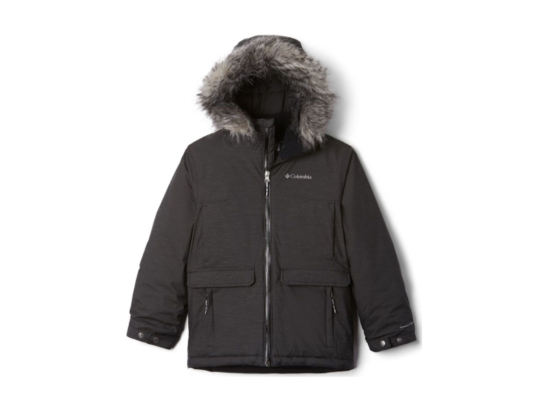 Columbia Basin Butte Casual Ski Jacket Black