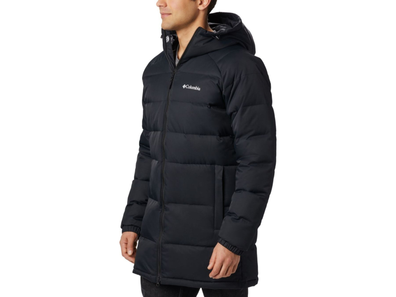 Columbia Macleay Down Long Jacket Black