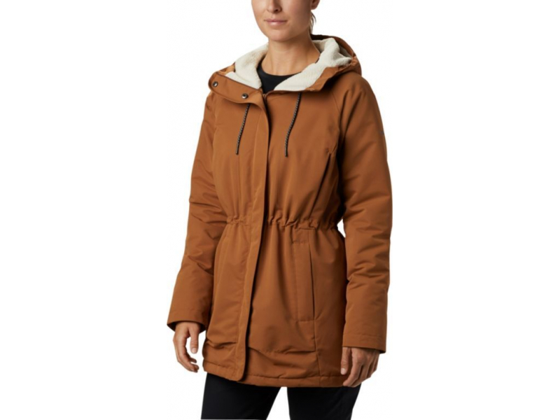 Columbia South Canyon Sherpa Lined Jacket Camel Brown