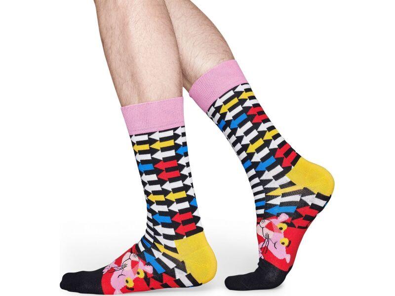 Happy Socks Jet Pink Multi 6300