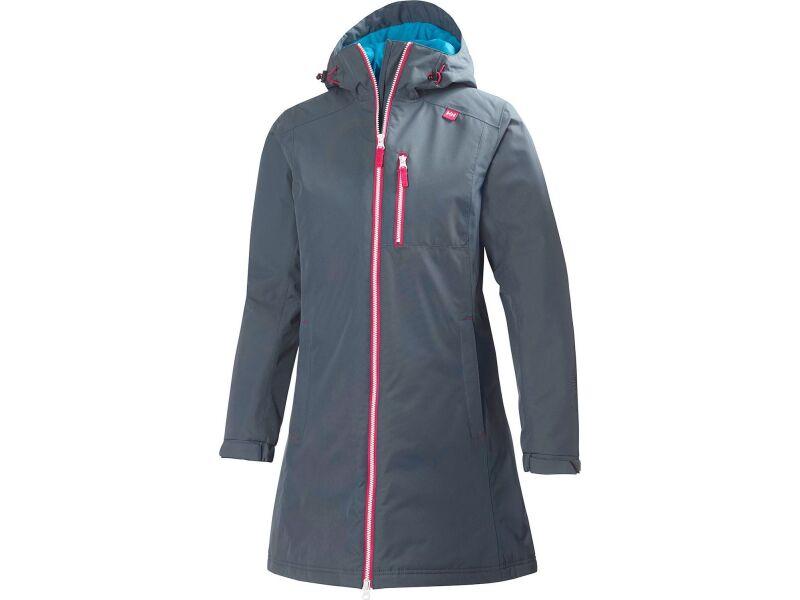 HELLY HANSEN Long Belfast Winter Jacket Women's Charcoal
