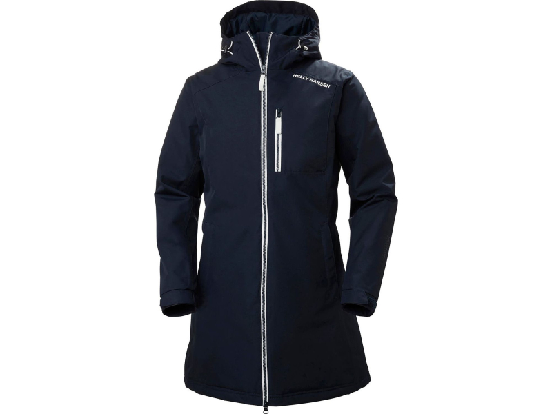 HELLY HANSEN Long Belfast Winter Jacket Women's Navy