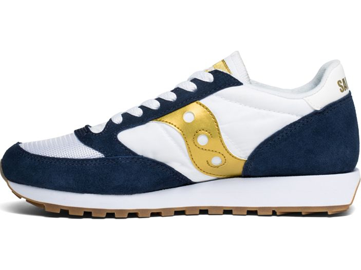 SAUCONY Jazz Original Vintage White/Navy/Gold