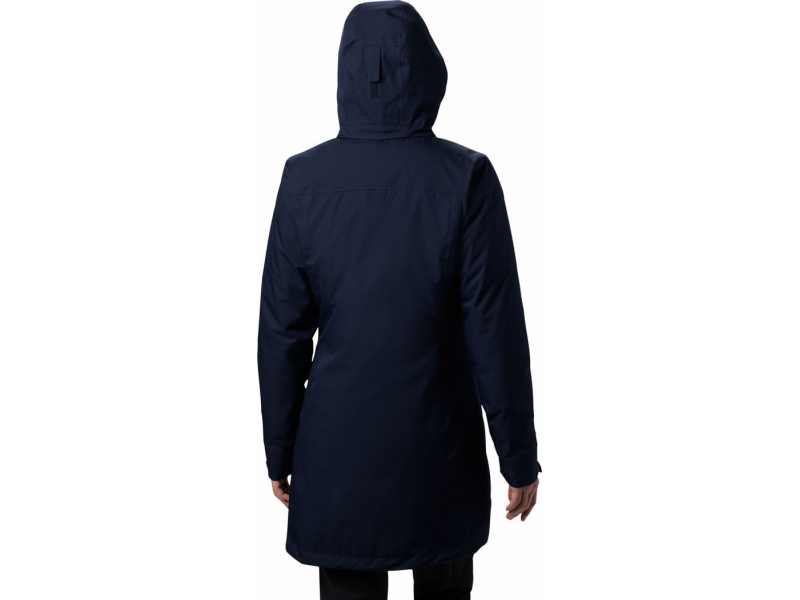Columbia Salcantay Long Hooded Interchange JKT Dark Nocturnal