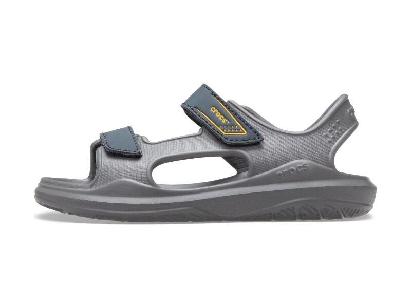 Crocs™ Swiftwater Expedition Sandal Kids Slate Grey/Charcoal