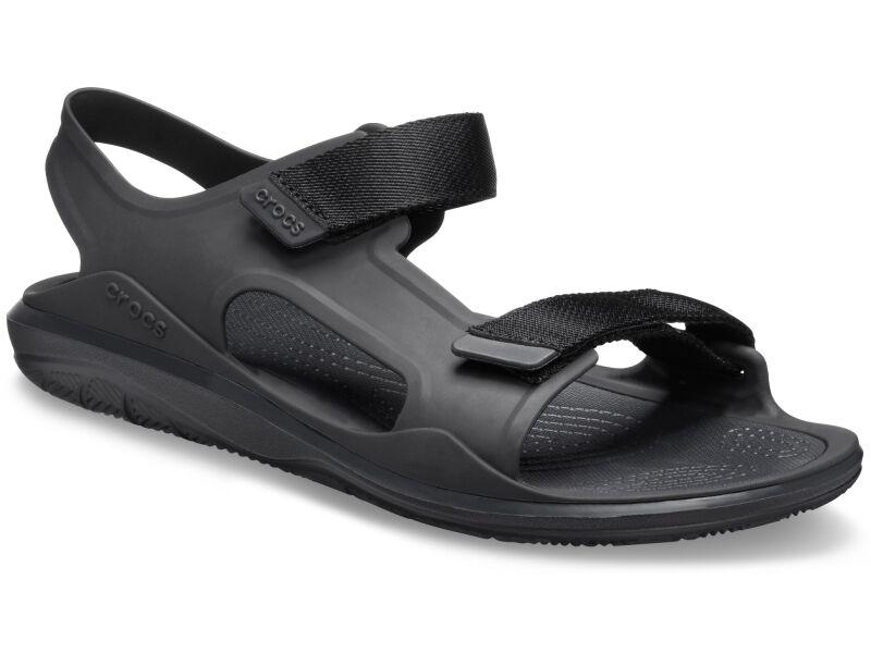 Crocs™ Swiftwater Molded Expedition Sandal Black/Black
