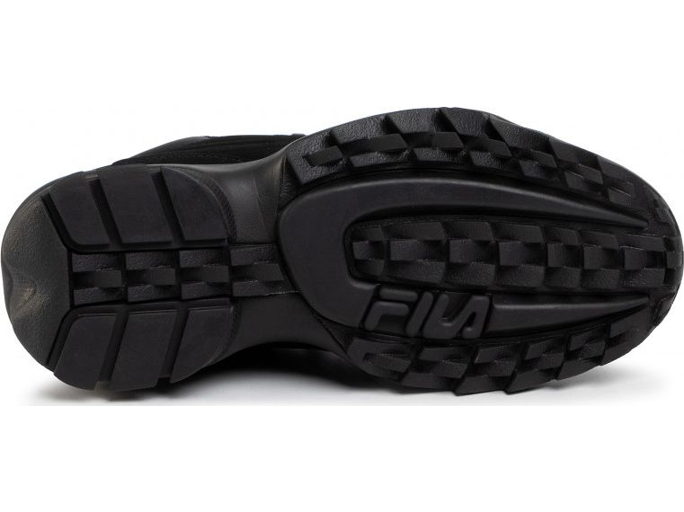 FILA Disruptor Hiker Low Black/Black