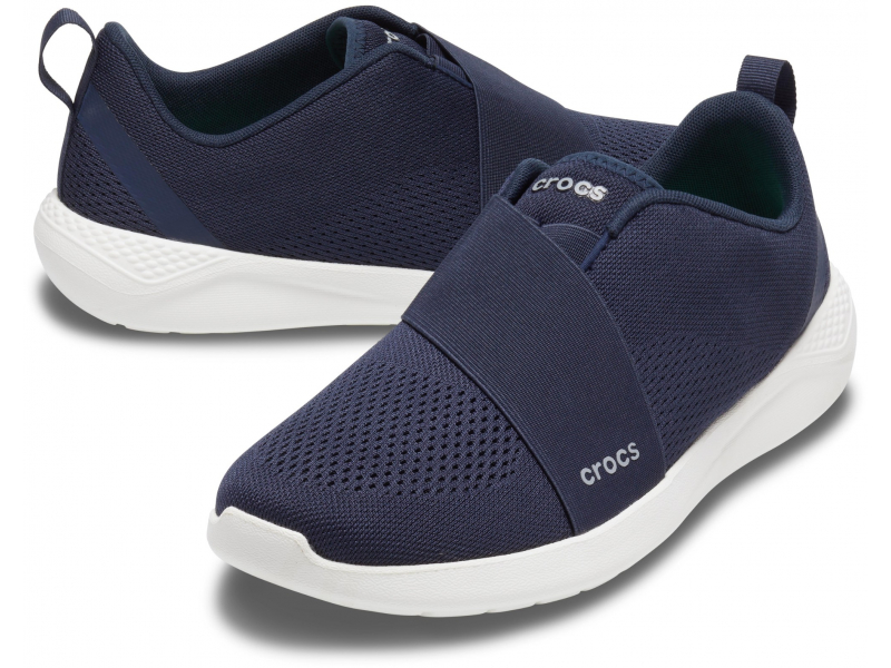 Crocs™ Literide Modform Slipon Mens Navy/White