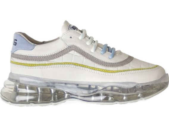 BRONX 1562 Bubbly Off White/Baby Blue/Lime