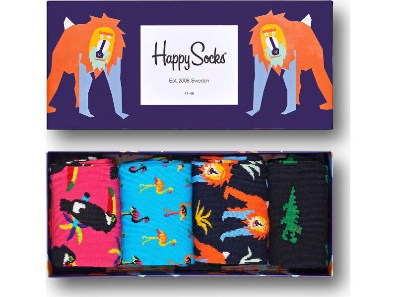 Happy Socks Animal Gift Box Multi 3500