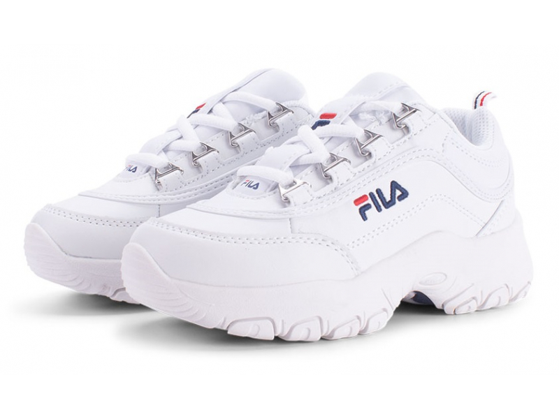 FILA Strada Low Kid's White