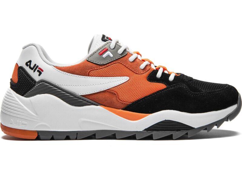 FILA Vault CMR Jogger CB Low White/Black/Mandarin Orange