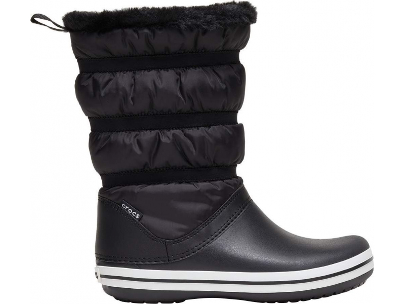 Crocs™ Crocband Boot Women's Black/Black