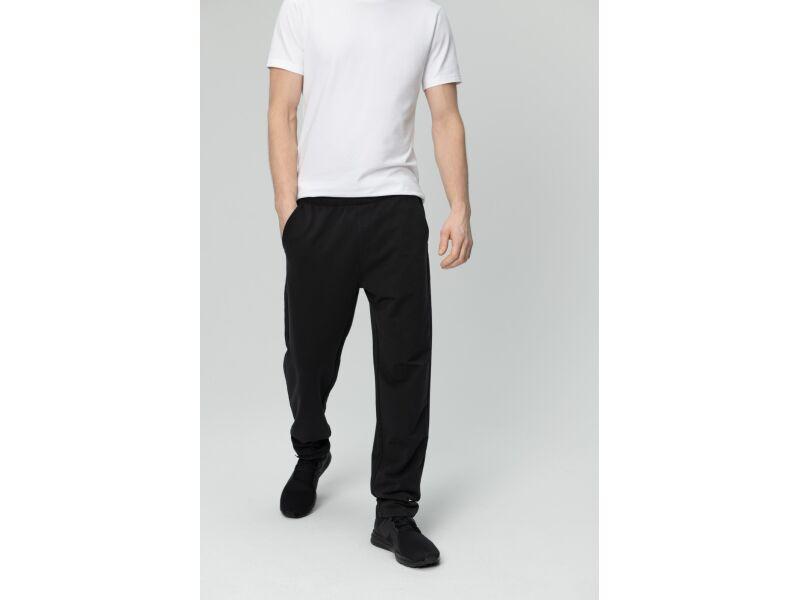 AUDIMAS Tamprios medvilninės kelnės 1821-463 Black