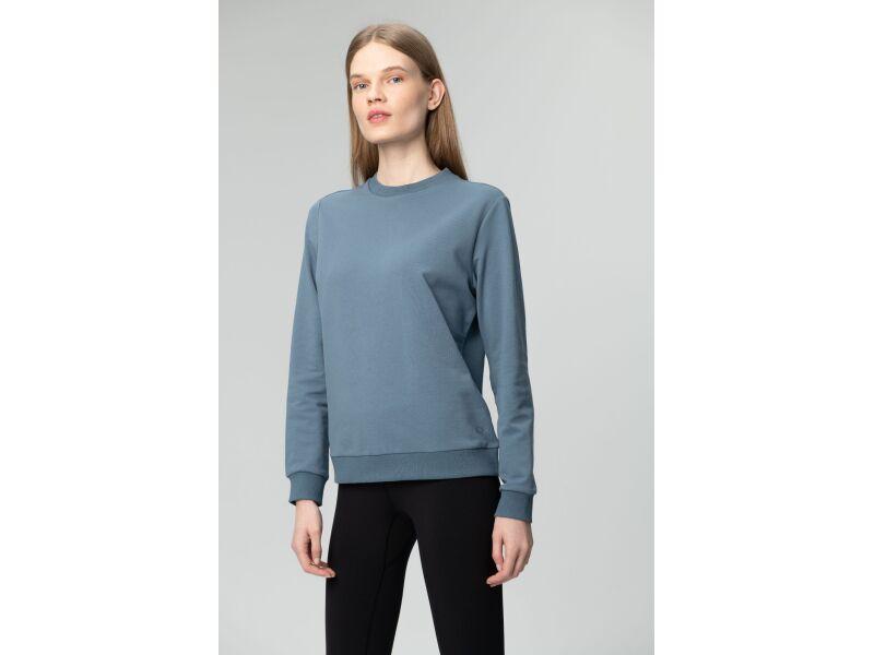 AUDIMAS Tamprus medvilninis džemperis 2011-056 Blue Mirage