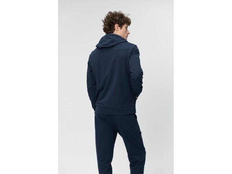 AUDIMAS Atsegamas medvilninis džemperis 2011-457 Navy Blazer