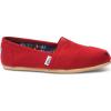 TOMS Canvas Women's Classic Alpargata Nl Red