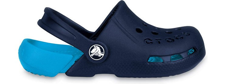 Crocs™ Kids' Electro Navy/Electric Blue 33,5