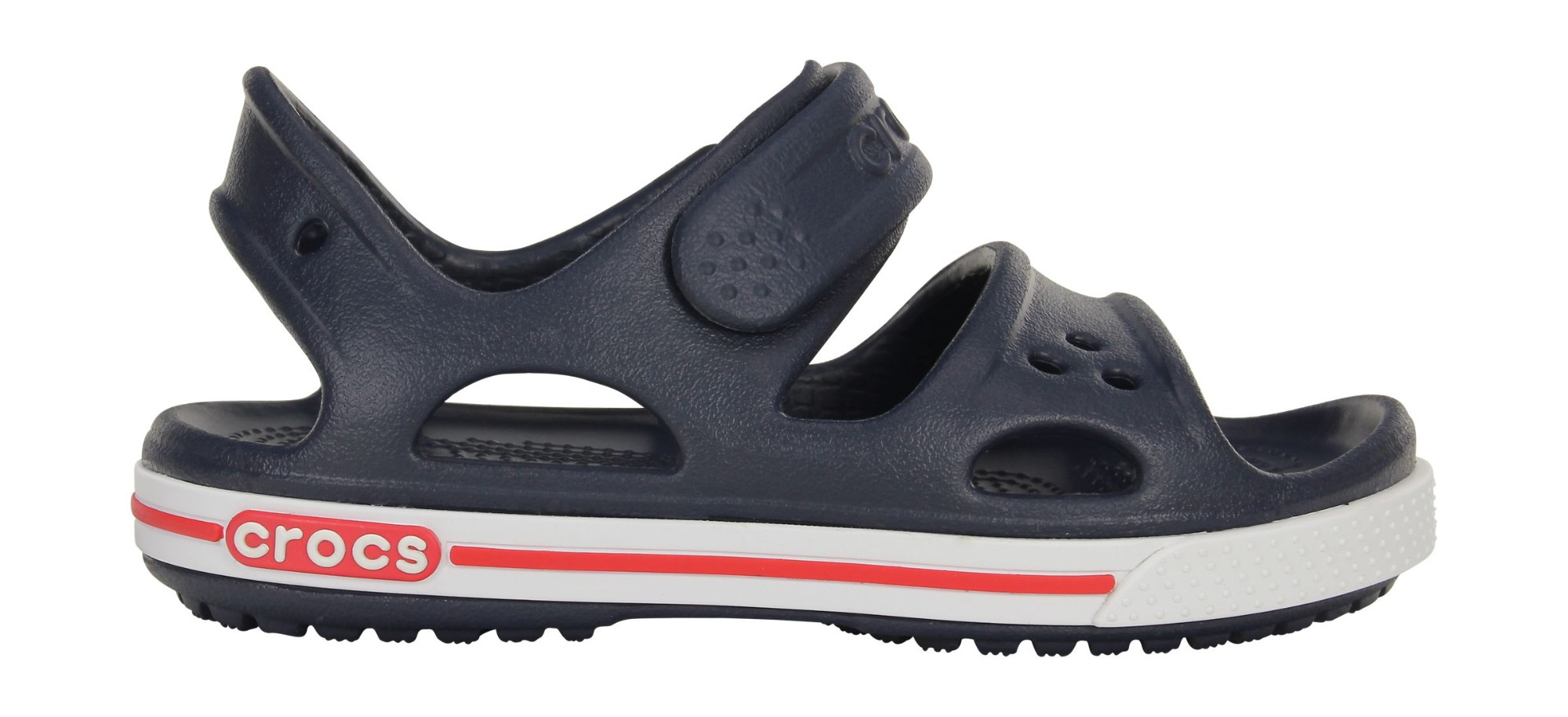 Crocs™ Kids' Crocband II Sandal PS Navy/White 23