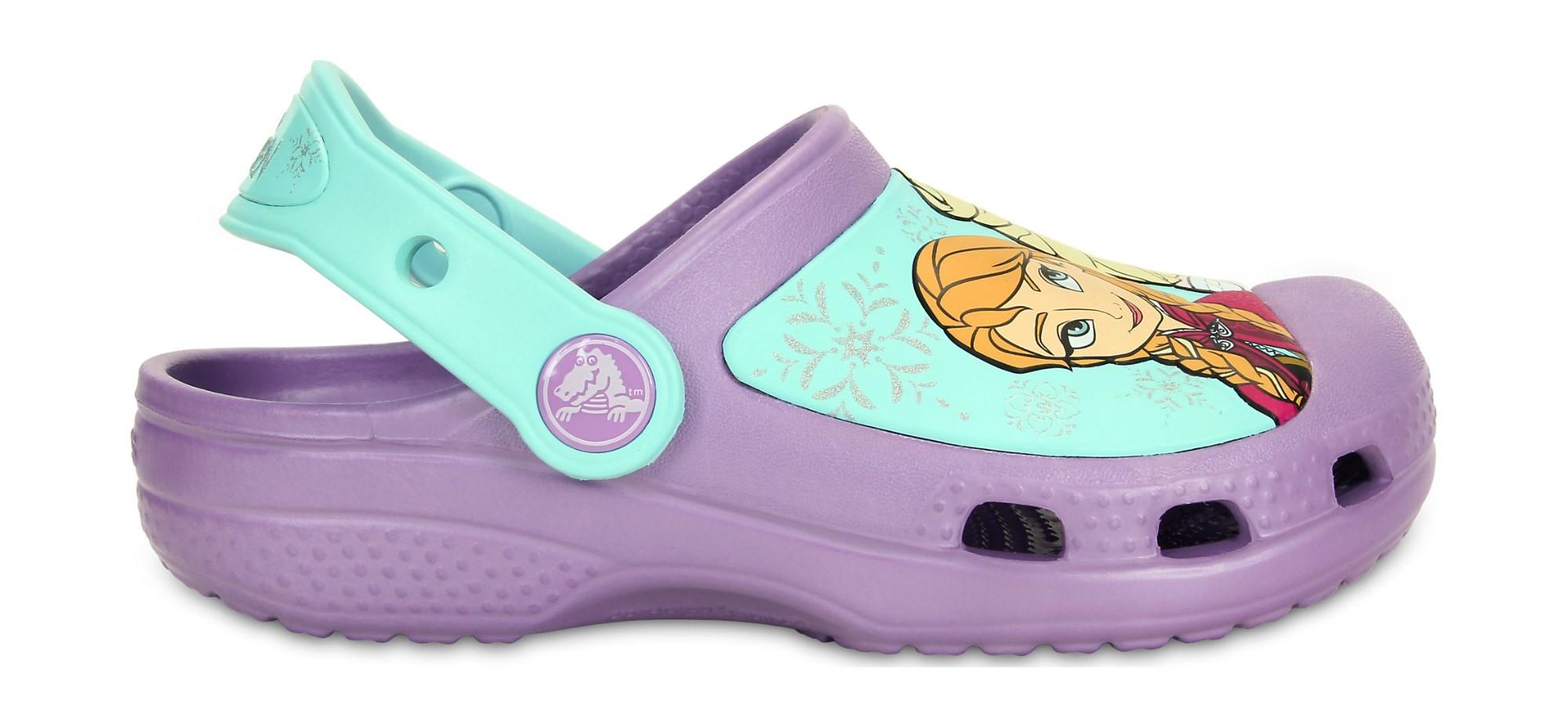 Crocs™ Girls' Creative Frozen Clog Iris 23