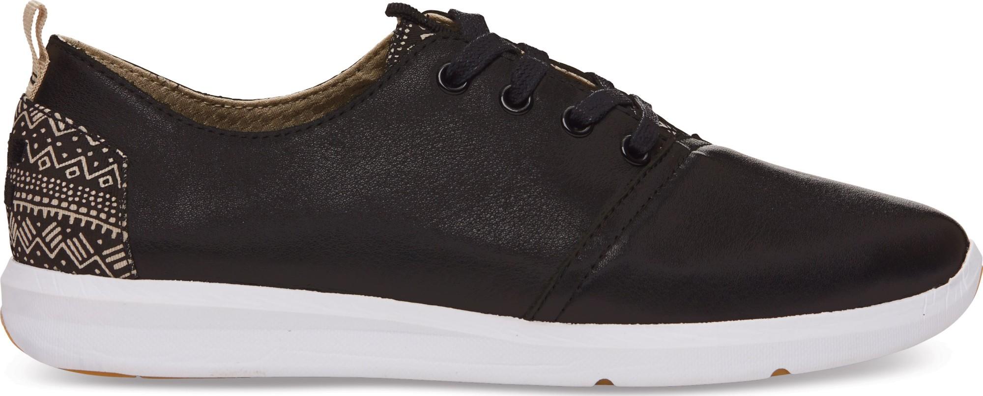 TOMS Suede Men's Viaje Sneaker Black 44