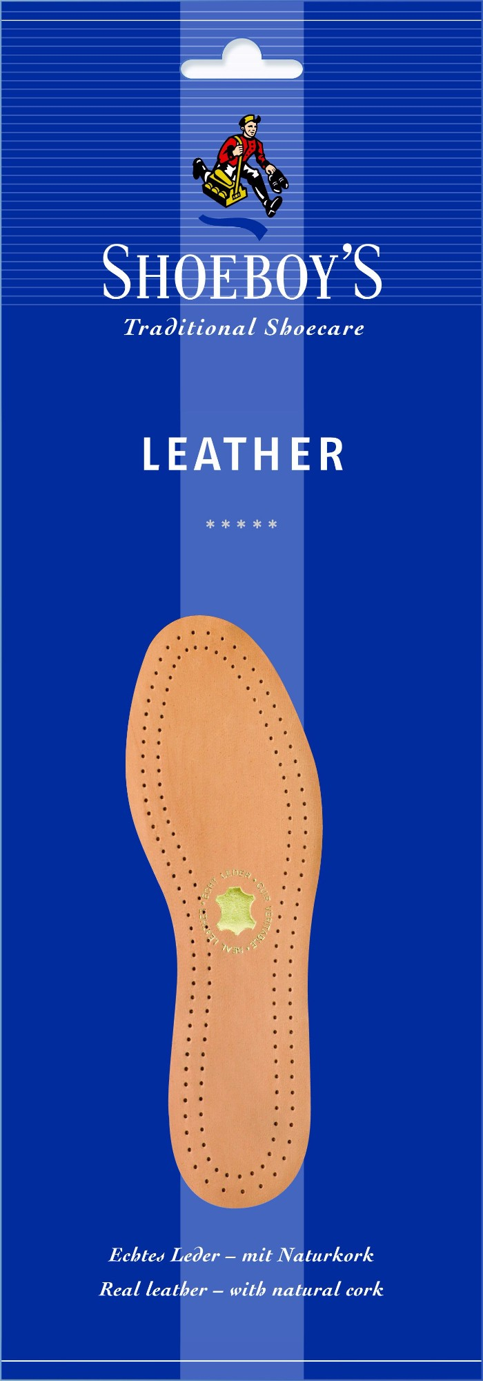 Shoeboy's Leather Insole Light brown 45