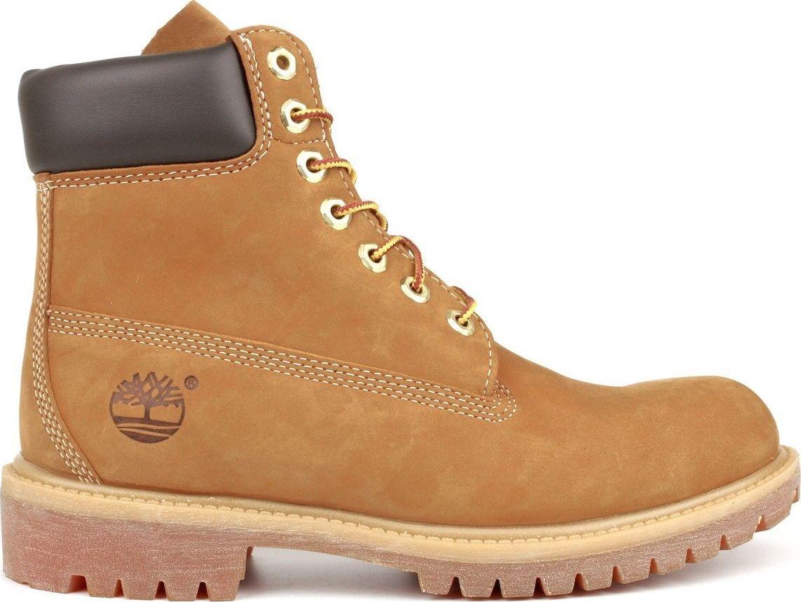 TIMBERLAND 6 In Premium Boot Men Wheat Nubuck 45,5