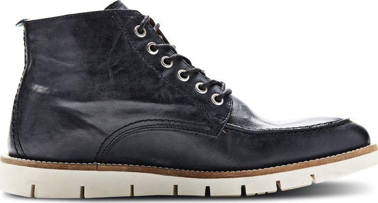 Jack Jones Kingston Leather Warm Boot Black